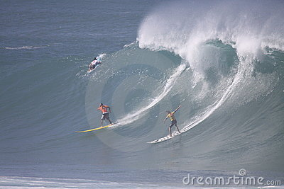 2009 Quicksilver Eddie Aikau Big Wave Event Editorial Image