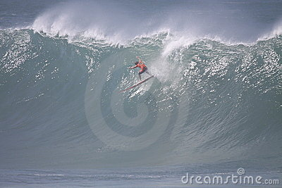 2009 Quicksilver Eddie Aikau Big Wave Event Editorial Stock Photo
