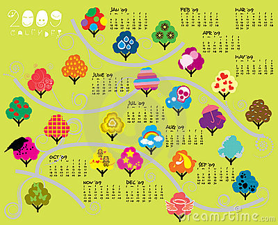 2009 Trees Calender