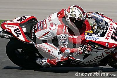 2009年superbikes 编辑类库存图片