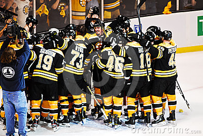 2010-11 Eastern Conference Champions Editorial Photography