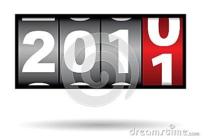 2010 2011年对年
