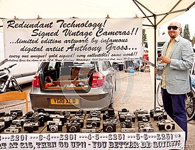 2010 Art Car Boot Fair, Brick Lane, London Editorial Stock Photo