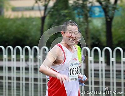 2010 Beijing International Marathon Editorial Stock Photo