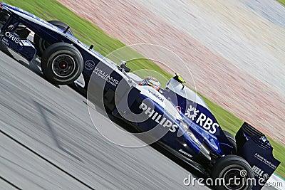 2010 Formula 1 - Malaysian Grand Prix 22 Editorial Stock Photo