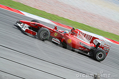 2010 Formula 1 - Malaysian Grand Prix 26 Editorial Stock Image