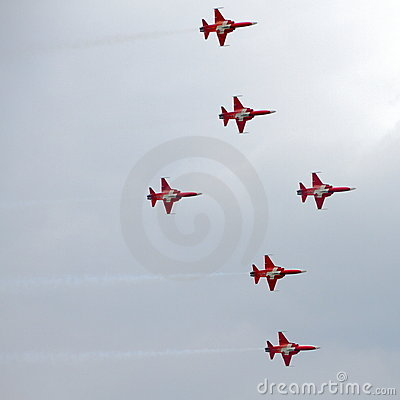 2010 July 24 Emmen Airshow, Editorial Stock Image