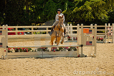 2010 June 06, Open Horse Show, Portola Valley, CA Editorial Stock Image