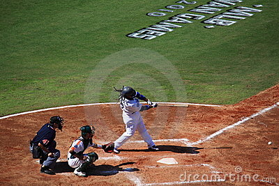 2010 MLB Taiwan Games Editorial Stock Image