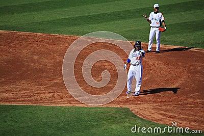 2010 MLB Taiwan Games Editorial Stock Photo