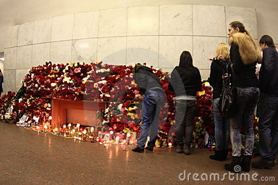 2010 Moscow Metro bombings Editorial Image