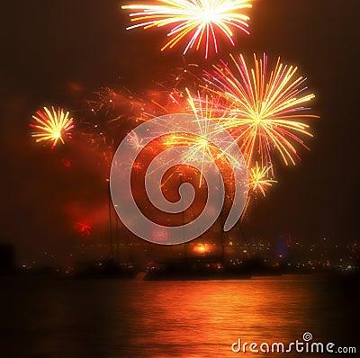 2010 New Year Fireworks Sydney