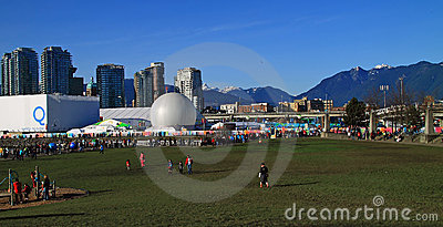 2010 Olympics in Vancouver Editorial Image