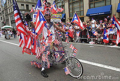 2010 Puerto Rican Day Parade Editorial Photography