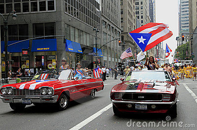 2010 Puerto Rican Day Parade Editorial Stock Image