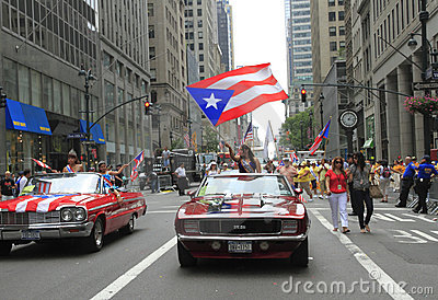2010 Puerto Rican Day Parade Editorial Image