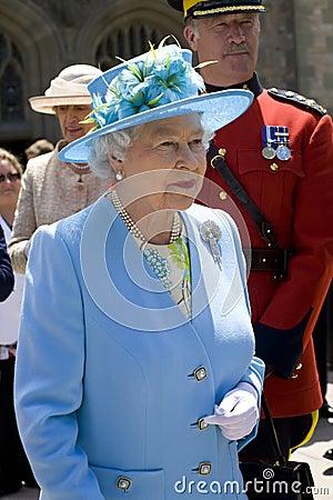 2010 Royal Tour - Ottawa Editorial Photo