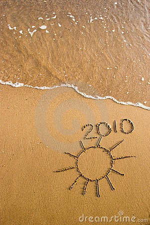 2010 on the sand