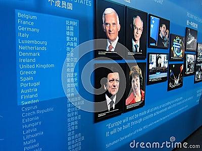 2010 shanghai expo  Belgium-EU  Pavilion Editorial Stock Photo