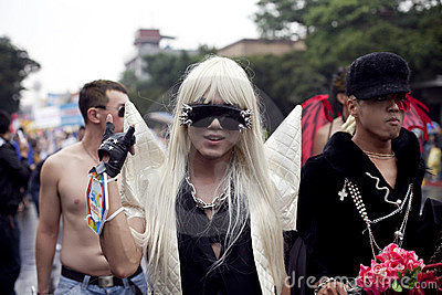 2010 Taiwan LGBT Pride Parade Editorial Stock Image