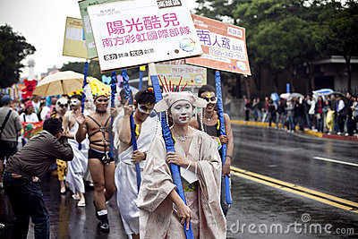 2010 Taiwan LGBT Pride Parade Editorial Image