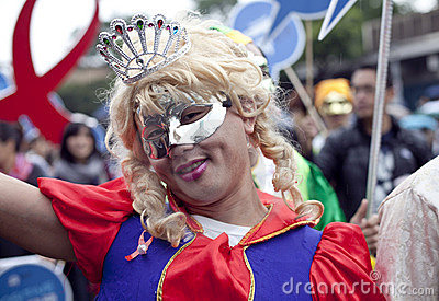 2010 Taiwan LGBT Pride Parade Editorial Stock Photo