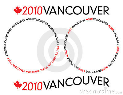 2010 Vancouver logotype Editorial Stock Photo