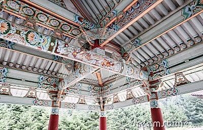 2011年北部的韩国 编辑类库存照片