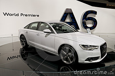 2011 Audi A6 at NAIAS Editorial Image