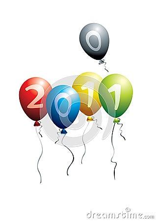 2011 balloons