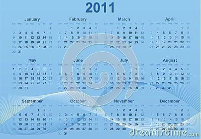 2011 Calendar.