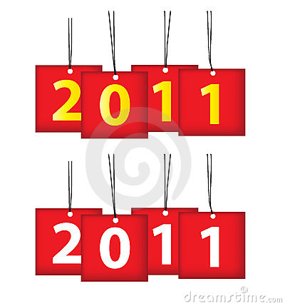 Free 2011 Calendar Icon Royalty Free Stock Photography - 16907537