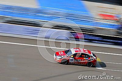 2011 China touring car championship Editorial Stock Photo