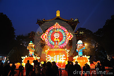 2011 Chinese New Year Temple Fair in chengdu Editorial Stock Photo