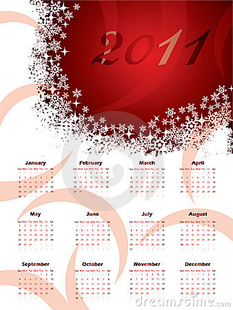2011 christmas calendar