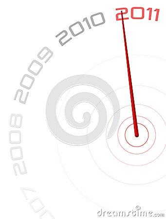 2011 Clock