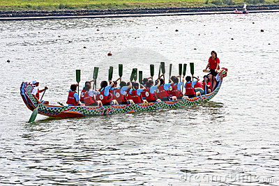 2011 dragon boat festival Editorial Photo