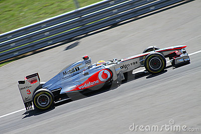 2011 F1 Turkish Grand Prix Editorial Stock Image
