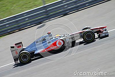 2011 F1 Turkish Grand Prix Editorial Stock Image