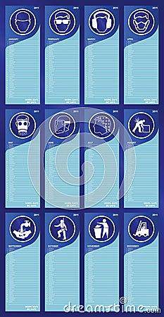 2011 Health and Safety calendar