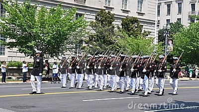 2011 Memorial Day Parade. Editorial Stock Photo