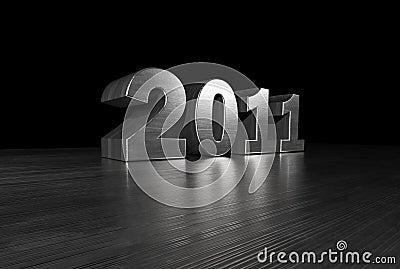 2011 Metal Font