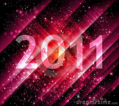 2011 new year background