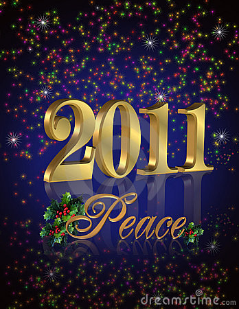 2011 New Year peace