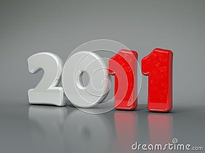 2011 New year symbol