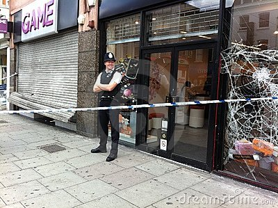2011 żniwa 2011 London niepokój Zdjęcie Stock Editorial
