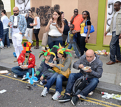 The 2011 Notting Hill Carnival 28th August 2011 Editorial Stock Photo