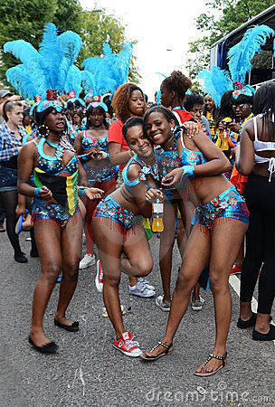 The 2011 Notting Hill Carnival 28th August 2011 Editorial Image