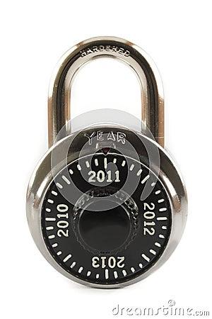 2011 nya år för lås