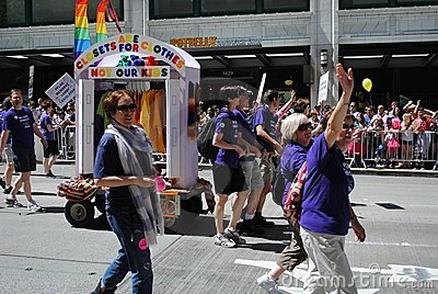 2011 Seattle Pride Parade Editorial Photo